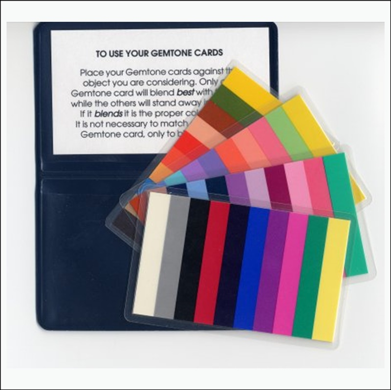 Gemtone Color Card Set